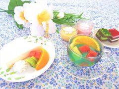夏の洋菓子シリーズ
