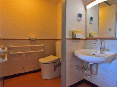 居室のトイレ、洗面