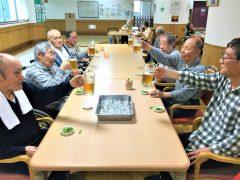枝豆とビールで乾杯!!