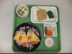 ひな祭り。ちらし寿司。