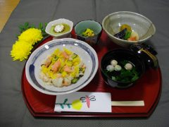 鮭ちらし寿司