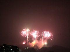 花火大会(屋上からの眺め)