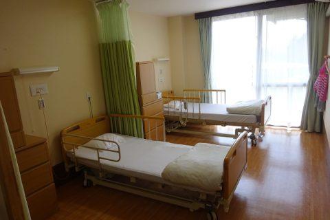 多床室は2人部屋です