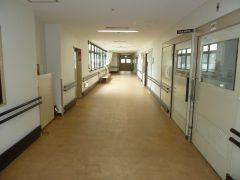 広い廊下で悠々と移動できます!