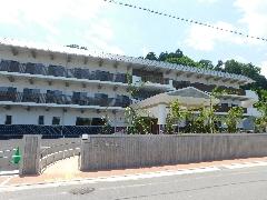 改築後の新施設。和風のイメージです