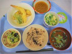 お祝い食の天ぷら御膳♪