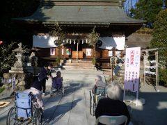 正一位岩走神社へ初詣