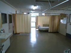 静かで広い静養室